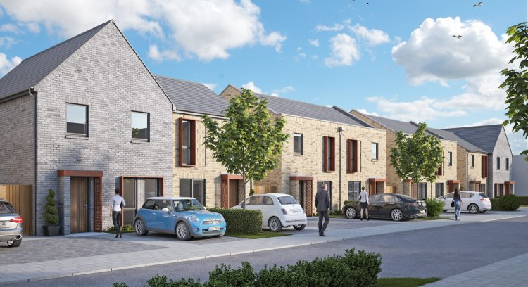 Gresham Homes Artists Impression Streetscape