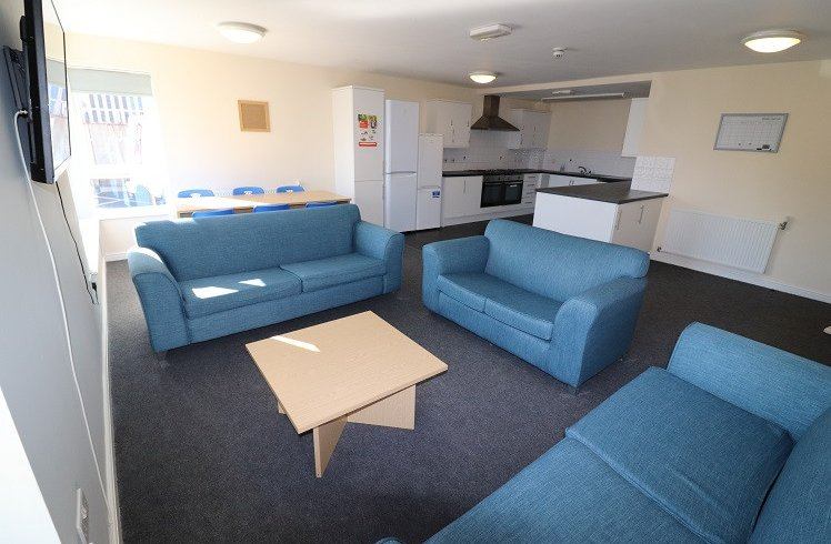 Student Accommodation Crown Halls Communal Lounge