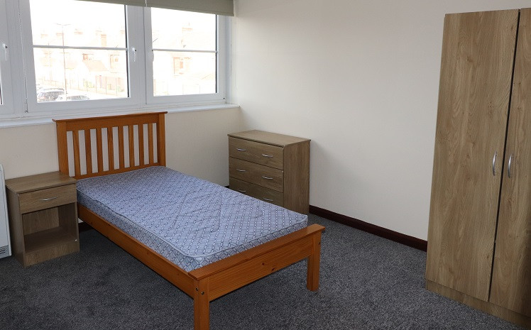 Student Accommodation Titan House Bedroom1