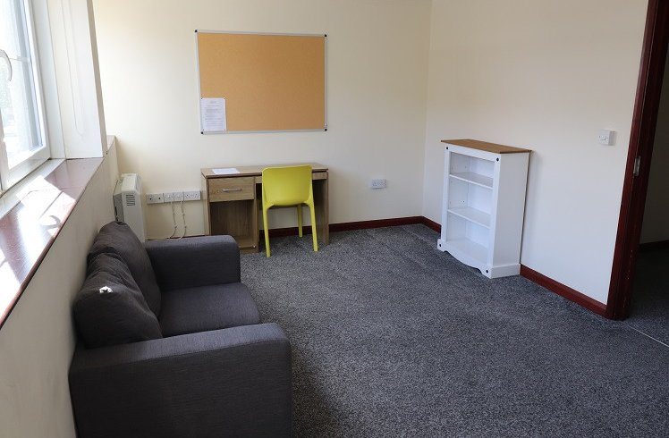 Student Accommodation Titan House Living Room