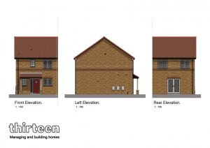 Ashton 3 Bed Elevations