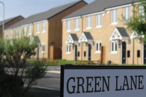 Green Lane Sign