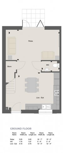 Newbridge Floorplan GF