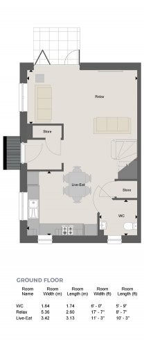 Stourbridge Floorplan GF