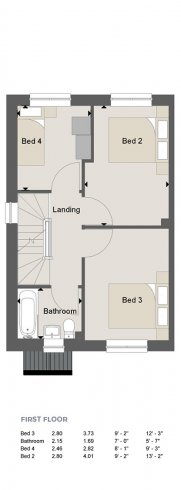 Weybridge Floorplan FF