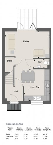 Weybridge Floorplan GF