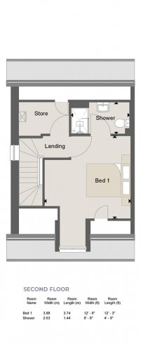 Weybridge Floorplan SF